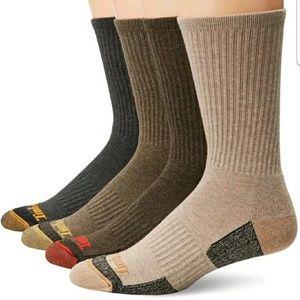 Timberland Men's 4 Pack Outdoor Leisure Crew socks